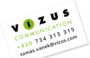 Vizus Communication | +420 734 313 315 | tomas.vanek@vizus.com